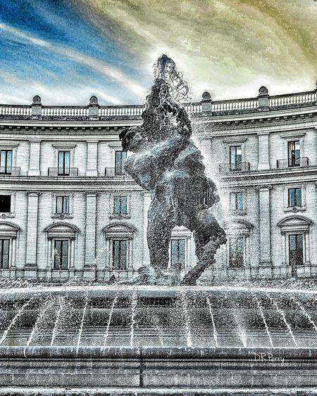 Naiad Piazzadellarepubblica Roma Rome Italy Italia Fountain Water PhotobydperryMArio Rutelli