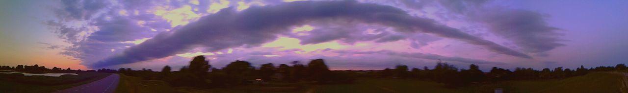 Morning Glory Cloud Rare Moment Dutch Clouds Cloudporn