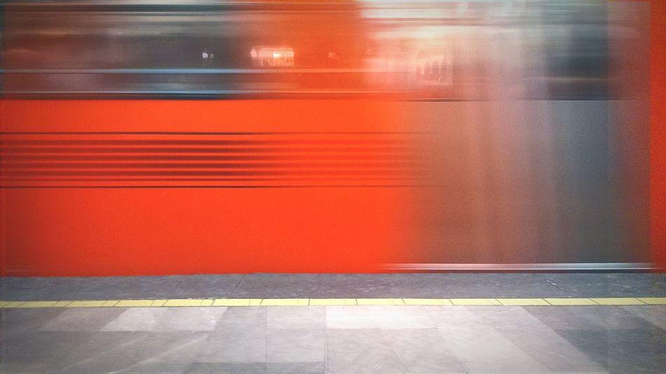 Mexico City Subway Train CrazyTrain Urbanphoto