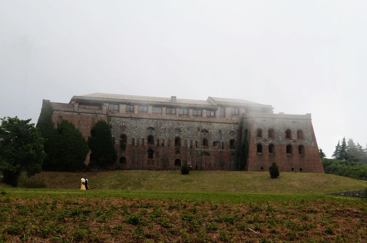 Begato Fog Forte Fortebegato Fortification Fortificazione Fortress Genes Genova Nature Nebbia