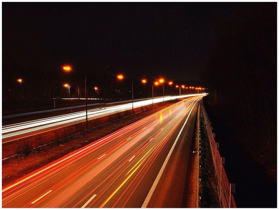 Taking Photos Nightphotography Light Trails Night Photography Nikon D3000 Belgium Night Colors Light Tracing Eyem Gallery Lightpainting