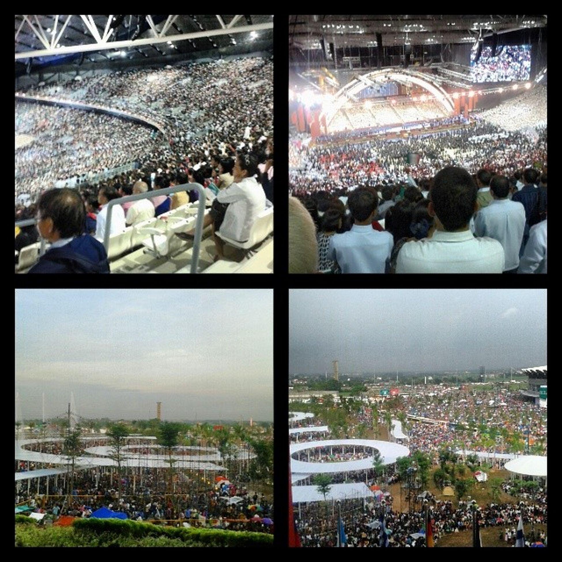 Happy Centennial to all Brethren :) HappyCentennial 100yrs Crowded History INC PhilippineArena CiudadDeVictoria