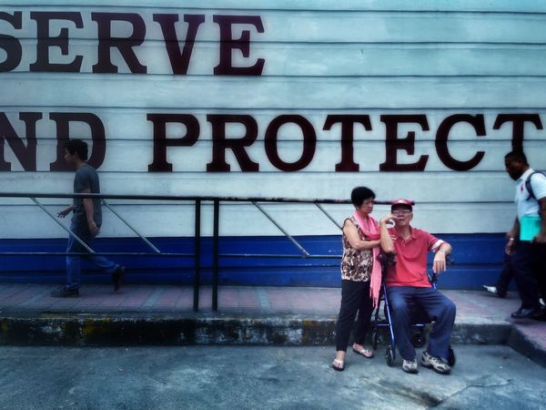 My parents vowed to serve and protect us and now its my turn to return that favor.... Eyeem Philippines Parents ❤❤❤