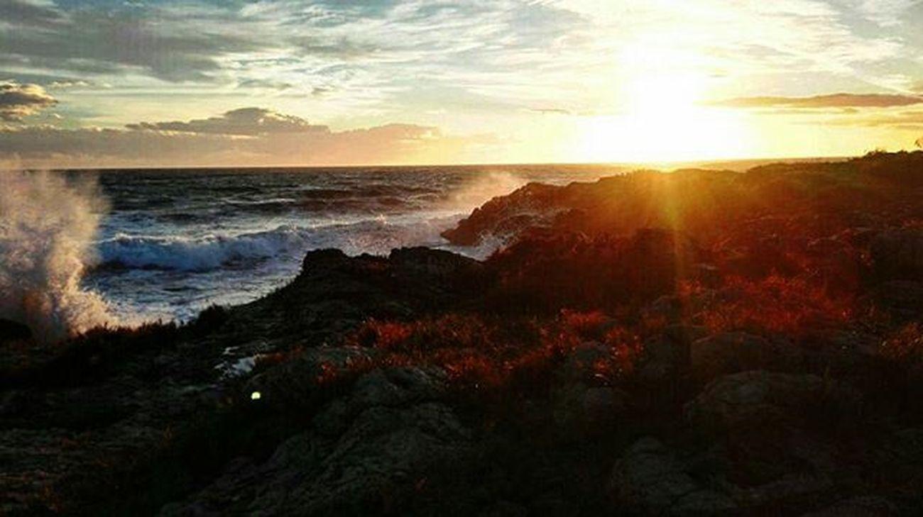 Incantevole tramonto al mare🌅🌅🌅😊😊😊💕💕💕con @francesco67legittimo Tramonto Italia Mare Salento Inverno Italy Instaitaly Sea Sunset италиямоялюбовь Италия Море Закат зима саленто
