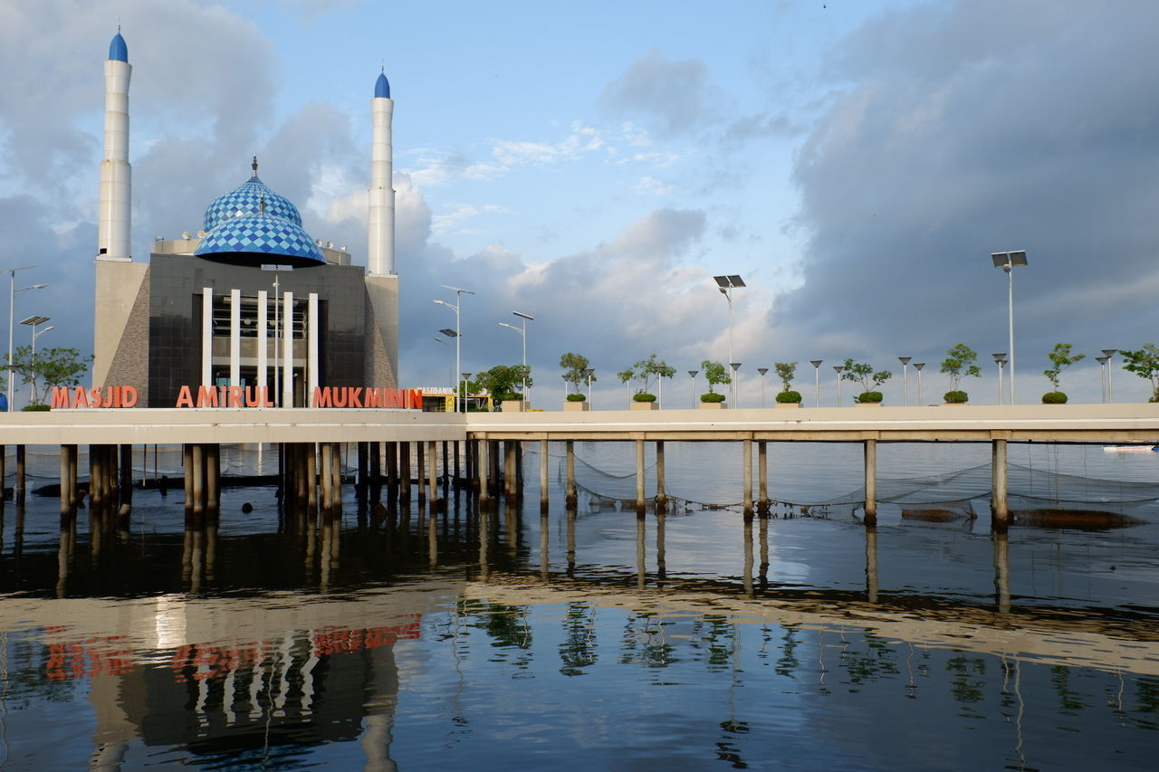 "Do you know Indonesia has a ""Floating Mosque""??? The name is Masjid Amirul Mukminin beacuse of the location in the northeast Losari Beach, Makassar Indonesia... Nature Makassar INDONESIA Wisataindonesia Wisata Pemandangan Beautiful Alam_indonesia ALaM Beach Losari Beach Losaribeach PantaiLosari Cityofmakassar Like4like Followme Likeit Likealways"