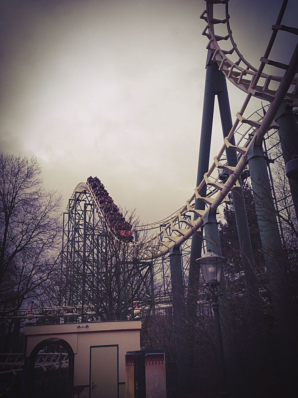 Mystic Rollercoaster Amusement Park Low Angle View Efteling ,the Netherlands Lovephotoeffect Efteling Fun Amusement Park Ride Roller Coaster Rollercoaster Theme Park Outdoors Arts Culture And Entertainment Ride IPhoneography BeCreative Creative Shots