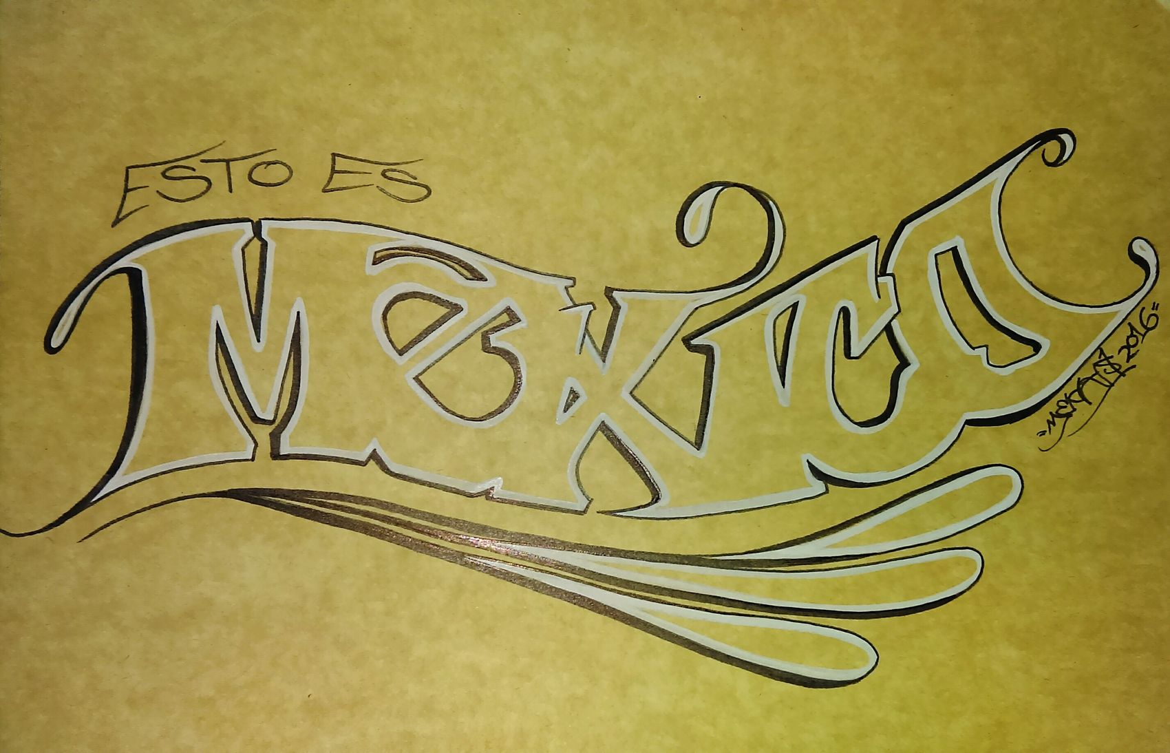 Esto es Mexico. Mexico Estoesmexico Lettering Graffitiporn Art, Drawing, Creativity Sharpie Art Graffiti Blackbook Typographyinspired Mecks1 Graffiti Art Typography Notes From The Underground Typograffiti Type Sharpie Artsy Graffiti Art Graffiti Writers Sinful El Pecador La Plaga Mexico_maravilloso Mexicourbano