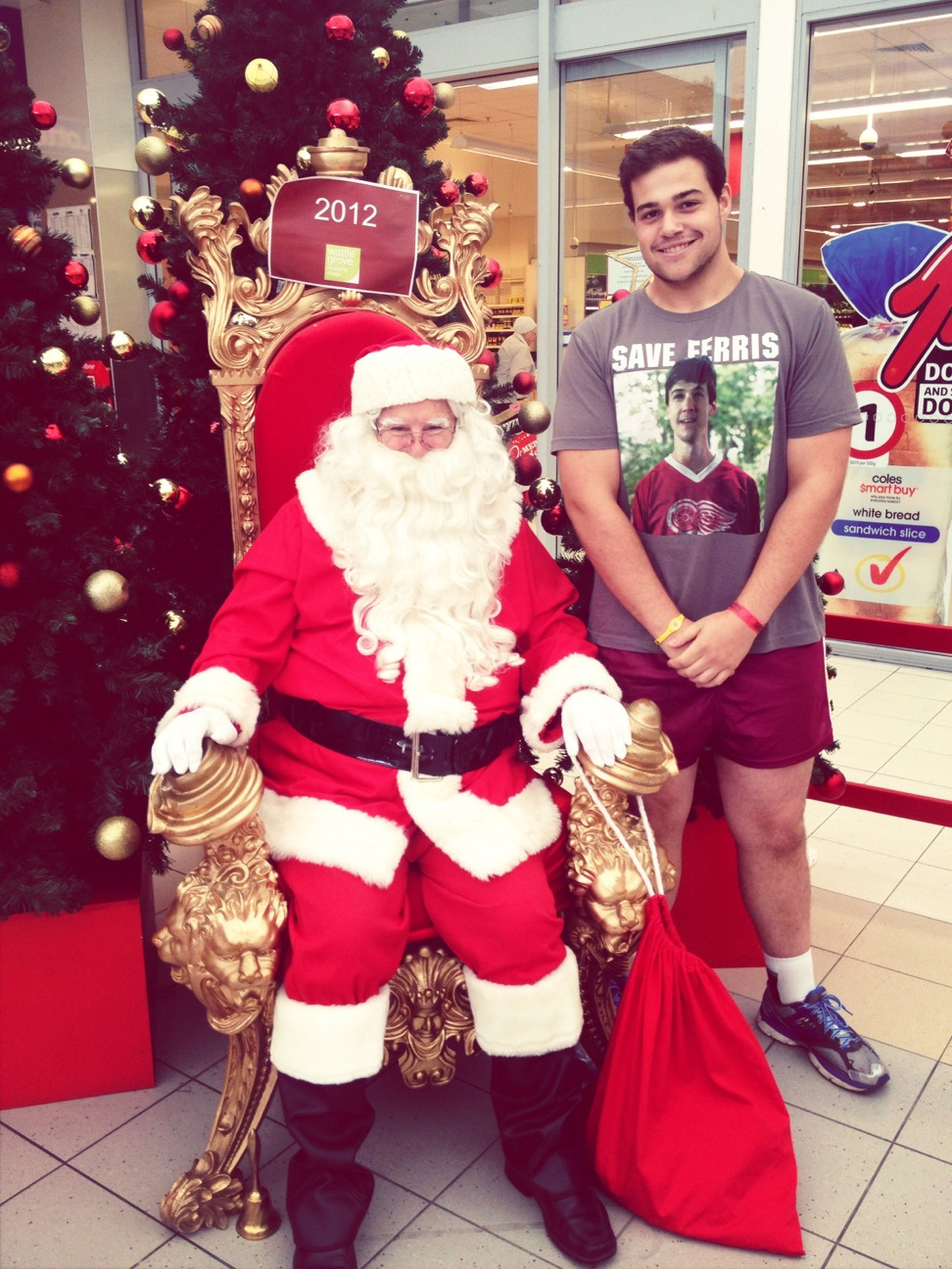 Yo Santa, Wassuuu!?