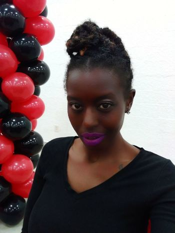 Headshot Only Women Portrait Adult One Woman Only Adults Only One Person People Human Body Part Women Young Women Indoors  Beauty Beautiful People One Young Woman Only Young Adult Smiling Close-up Day Eyes Are Soul Reflection Lipstick ♥ Highsociety Lips Seductive Goddess Melaninpoppin
