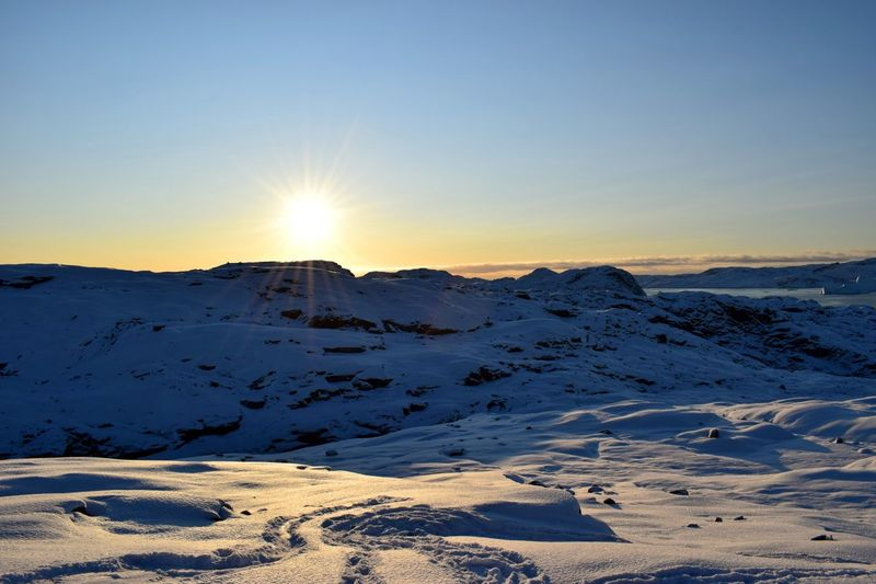 Innaarsuit Sky Nature Photography Greenland Colour Of Life Places You Must To See Beauty In Nature EyeEm Sunny Winter Day Snow Snowy Mountains Amazing View Photography Is My Escape From Reality!