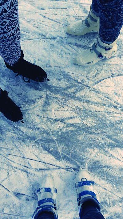 Snow Snowy Iceskating Shoes Iceskating Cold Temperature Austria Snowing Followme EyeEmBestPics Frosty Day EyeEm Best Shots EyeEm Gallery EyeEm Best Edits Outdoors Winter Frozen Iced Iceskating With My Girls Iceskating With Friends