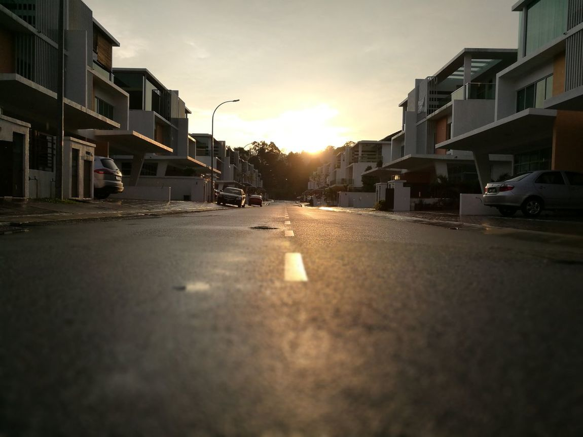 Dusk At Home No People Sky Sunset Kinrara Outdoors Puchong