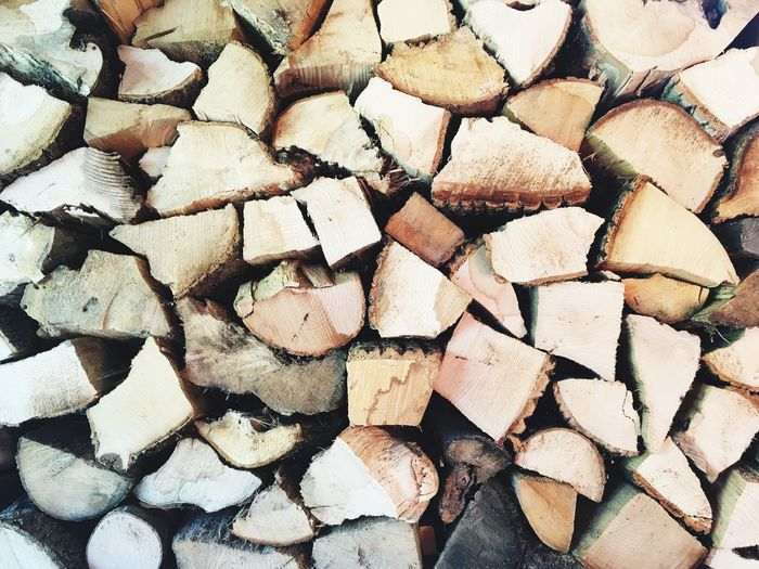 Wood Cut Wood Woodstove Wood EyeEm Selects Stack Large Group Of Objects Full Frame Abundance Log Shape Backgrounds Woodpile Timber No People Chopped Forestry Industry Outdoors