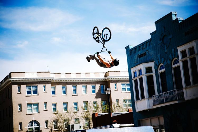 Action Shot  Bmx  Streetphotography