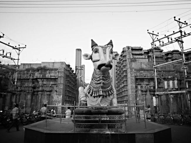 Temple Religious Architecture Nandi