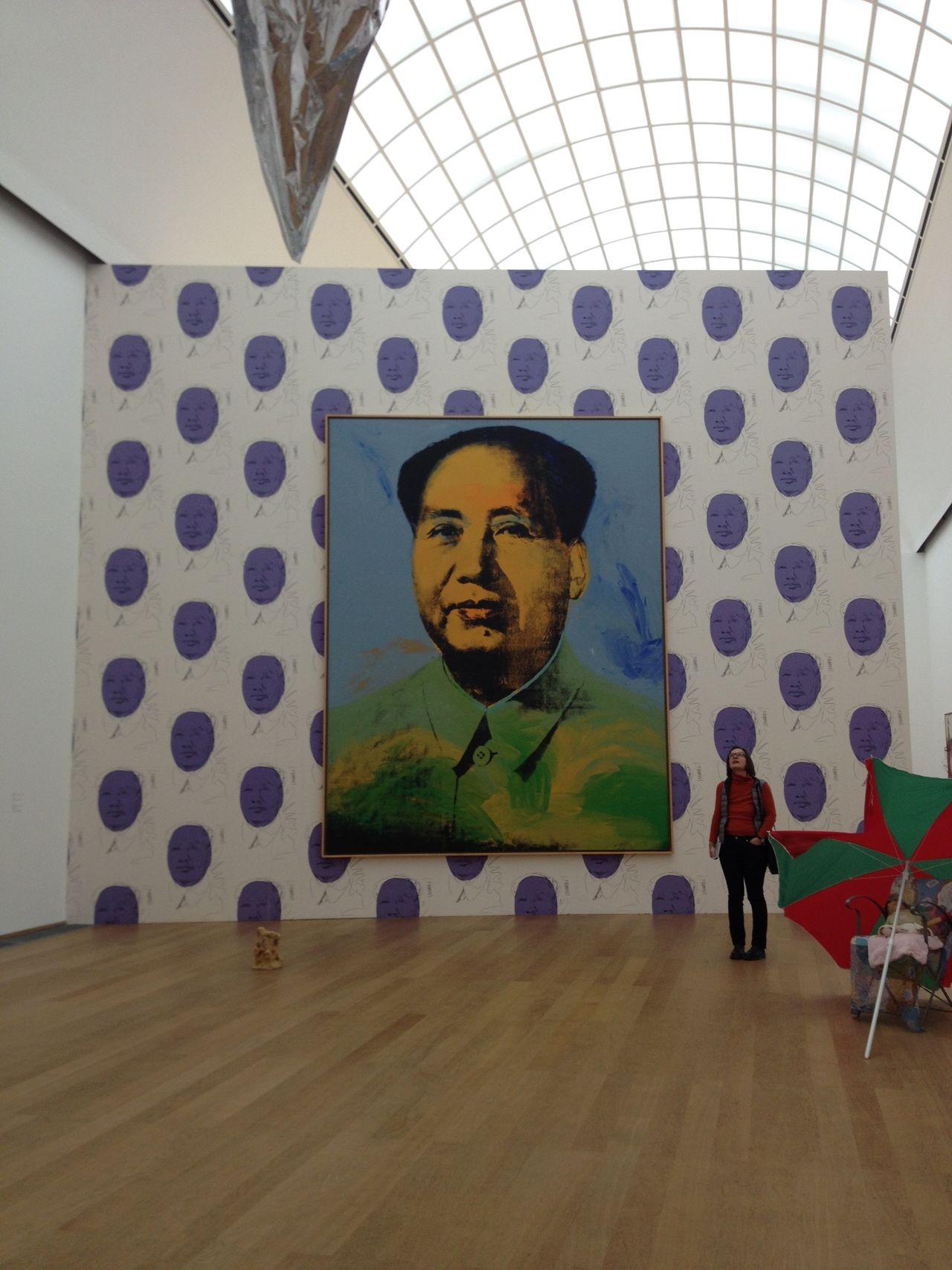 The Hamburger Banhof Museum. Andy Warhol Art Contemporary Art Design Dots Mao Multi Colored Museum Museum Of Modern Art
