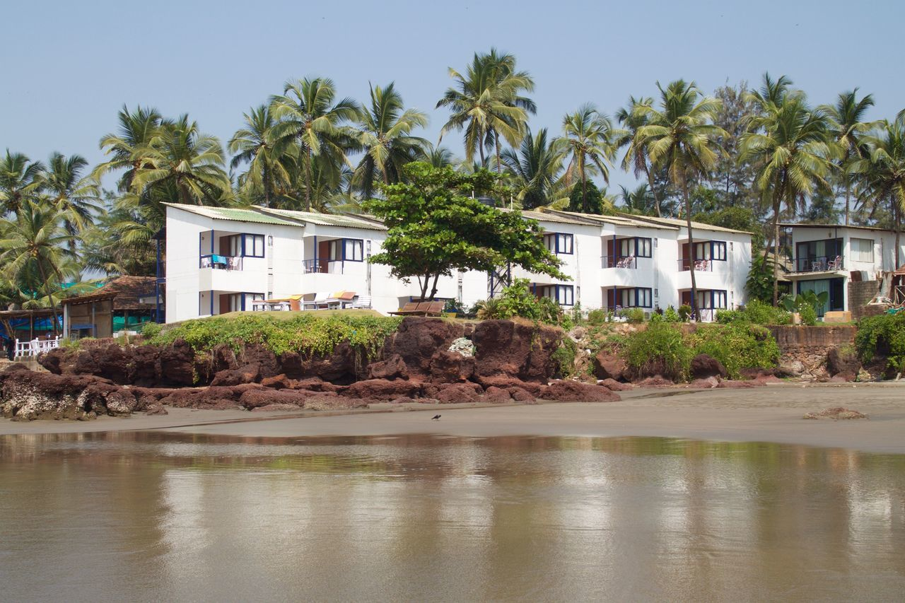 Architecture Ashvem Ashvem Beach Beach Beach Photography Building Exterior Built Structure Goa Holiday Villa House India No People North Goa Outdoors Residential Building Sea Water Neighborhood Map