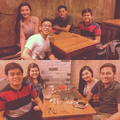 People just come and go. But sometimes, they go somewhere for a minute to burn bridges, and learn to lie. Right @marcelotrisha @ariendarenz @lemybidaone @iamkayeking ? :) WHOGOAT