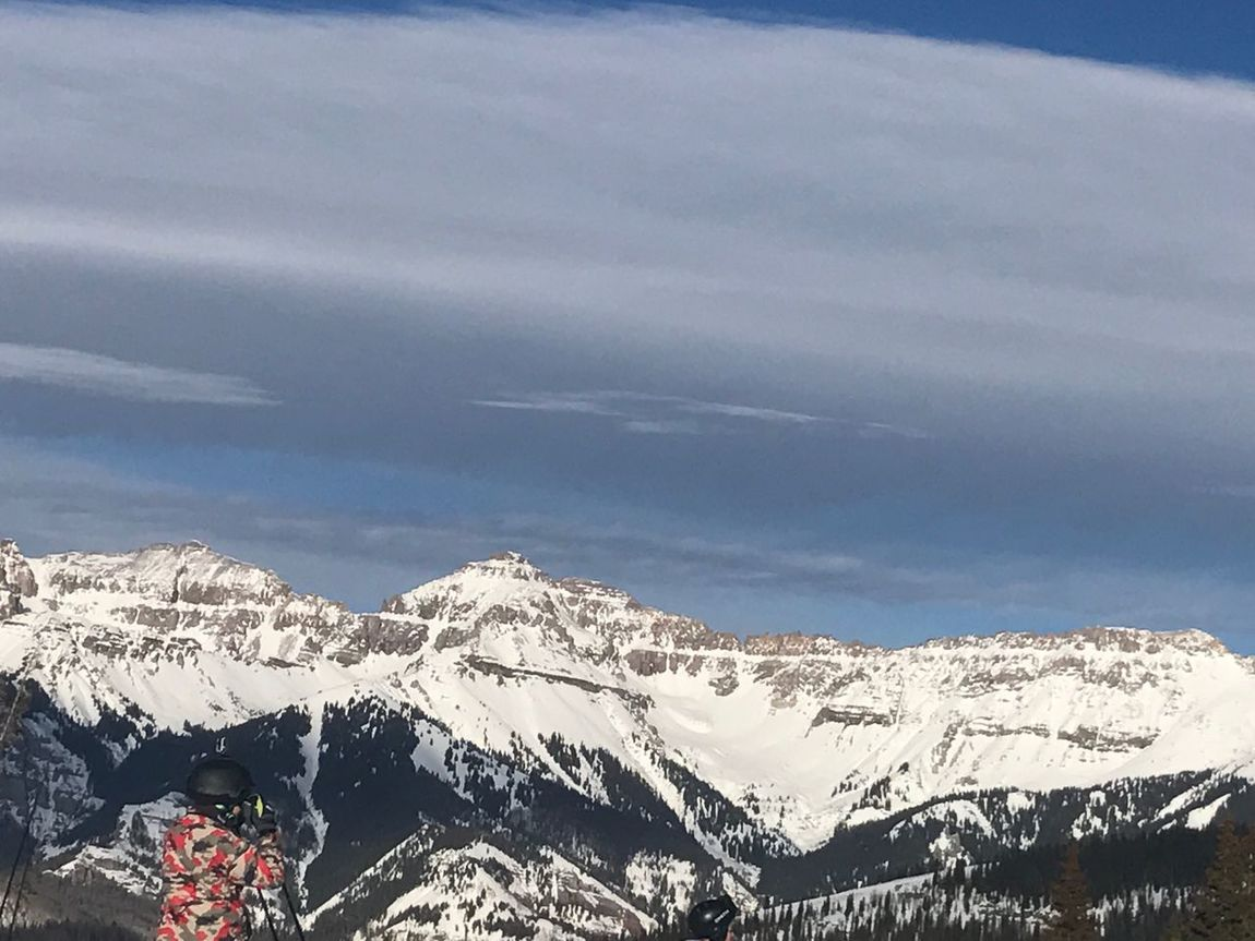 Lost In The Landscape breath taking view at the top of lift 10 Telluride