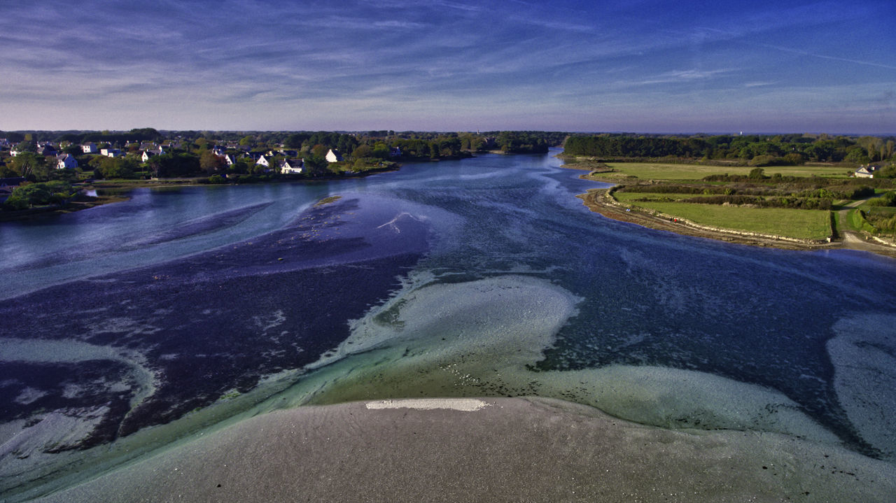 Beauty In Nature Bretagne Bretagnetourisme Day Drone  Landscape Nature No People Outdoors Scenics Sky Tranquil Scene Tranquility Tree Water