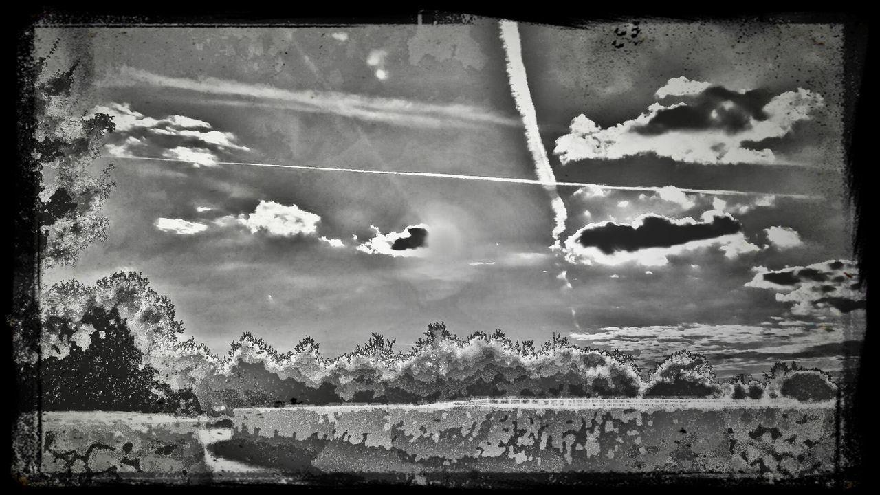 Pop Art Collage Landscape_photography Sun&Clouds