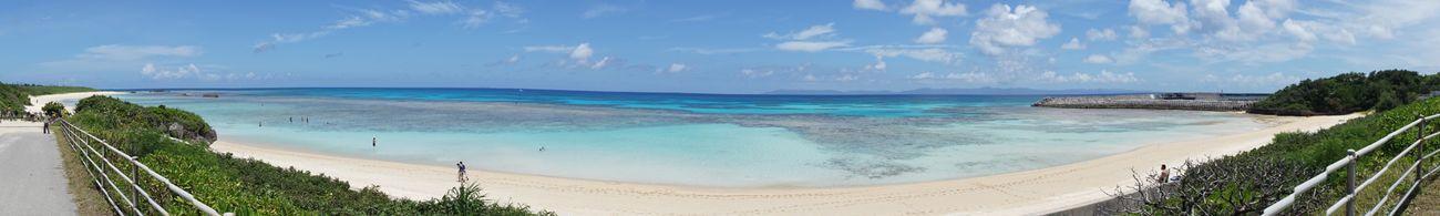 沖縄県 ( Okinawa ) 波照間島 ( Haterumajima )の パノラマ です