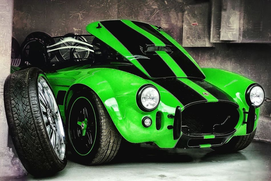 Green Color Car Spider Outdoors No People Multi Colored São Paulo Velocity Sports Car