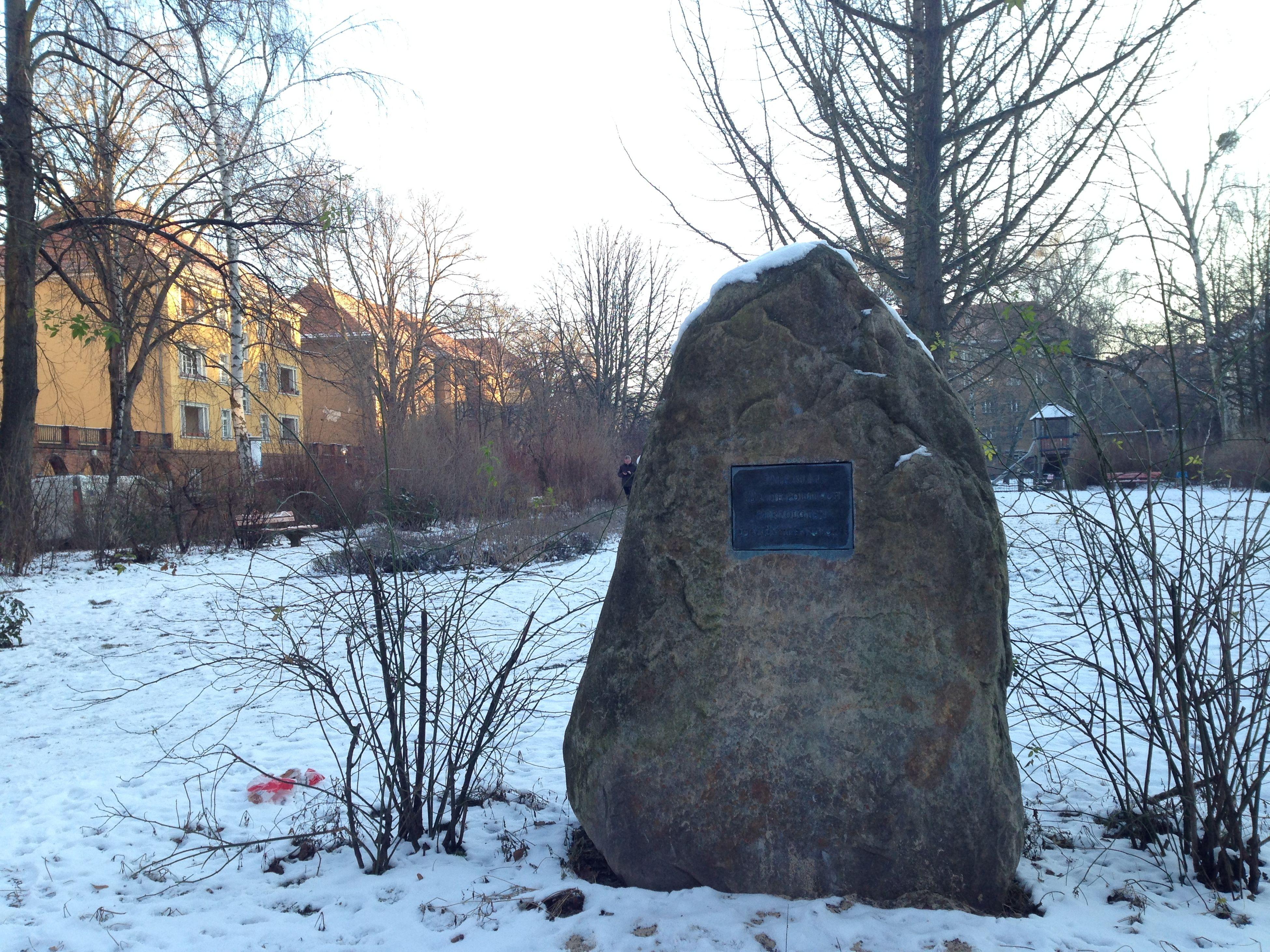 Mahnmal für die politisch Verfolgten der Künstlerkolonie Denkmal