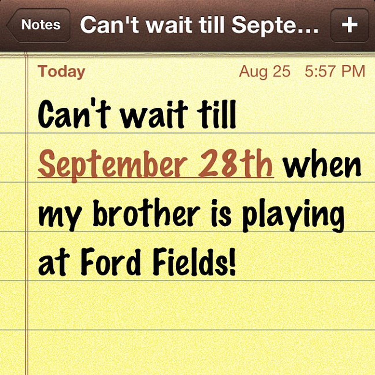 Seriously though☺? Cool Fordfields Varsityfootballgames Brother romeobulldogs woo cantwait