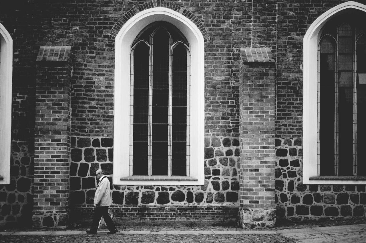 Beautiful stock photos of straßenfotografie, Architecture, Brick, Building Exterior, Church