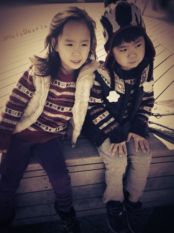 子供 Children People 散歩 双子 Twins
