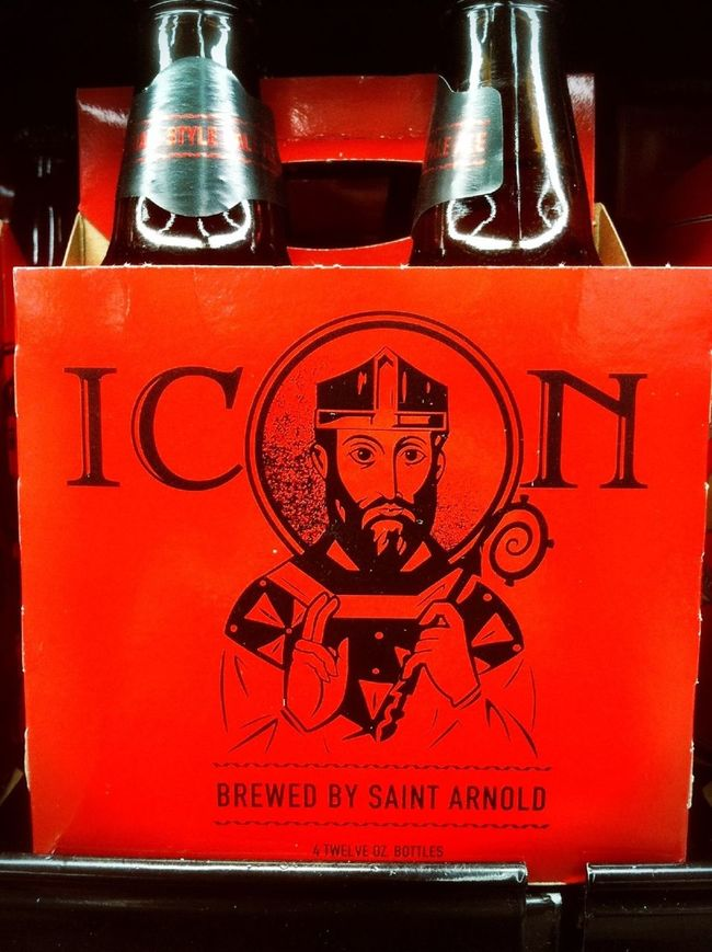 Merry Christmas to you all!! This Saint Arnold's Icon, the new Belgium pale ale