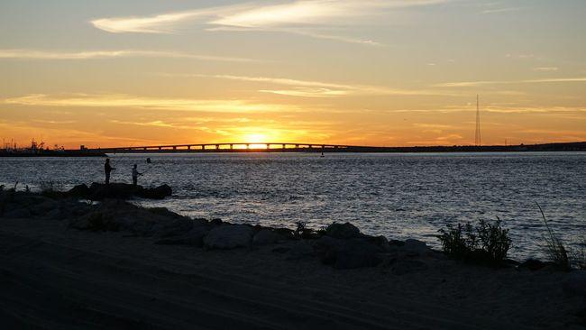 Sunset Water Tranquil Scene Sea Majestic Beauty In Nature Enjoying Life Long Island Easylikesundaymorning Oceanview Lifeisgood Saltlife Eastend Beach Surffishing Longislandlife Waves The Best Of New York