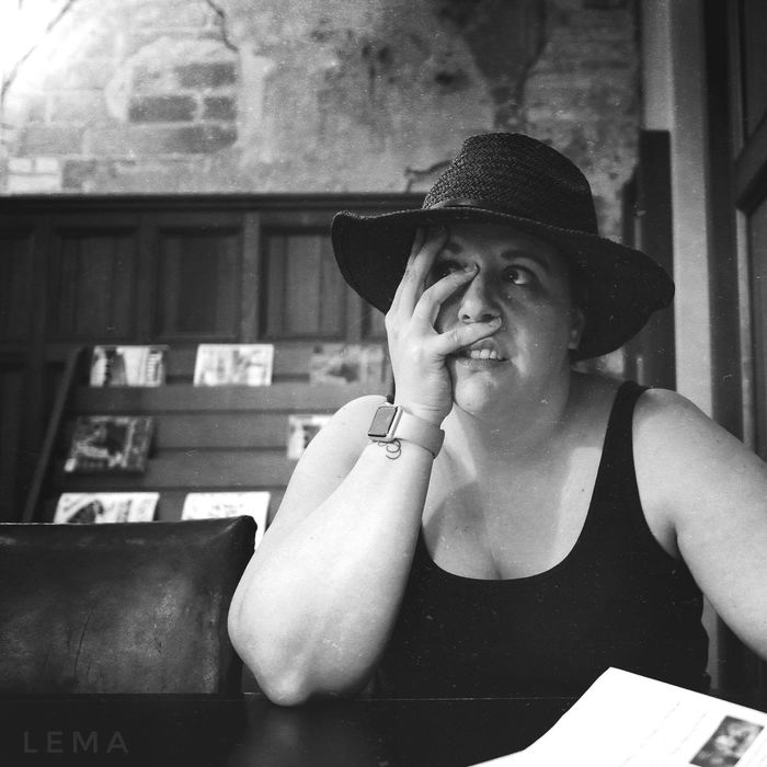 The cringe. Hat Young Women One Person Real People Portrait Leisure Activity Blackandwhite Leica Lens Cringe