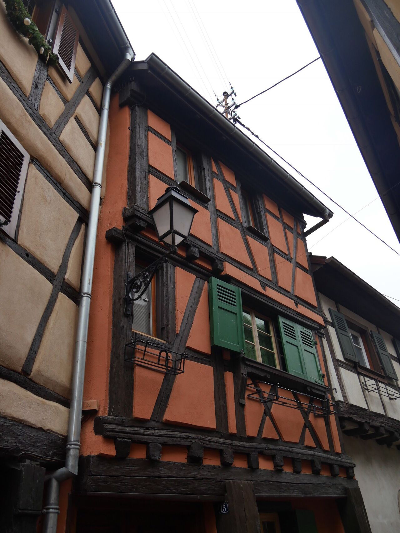 Eguisheim Alsace France Half-timbered House