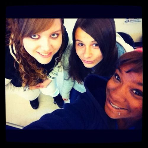 Old picture of me & the homies ;) #Freshmanyear