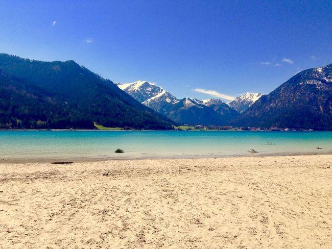 A small break @ Achensee Mountain Blue Lake Lake View Mountains Mountain View Mountains And Sky Alps Achensee Alpenpanorama Alpen