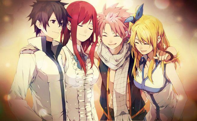 Lucy Heartifilla Natsu Dragneel Fairy Tail Fairytailnalu Nalu FairyTail Erza Scarlet Grayfullbuster