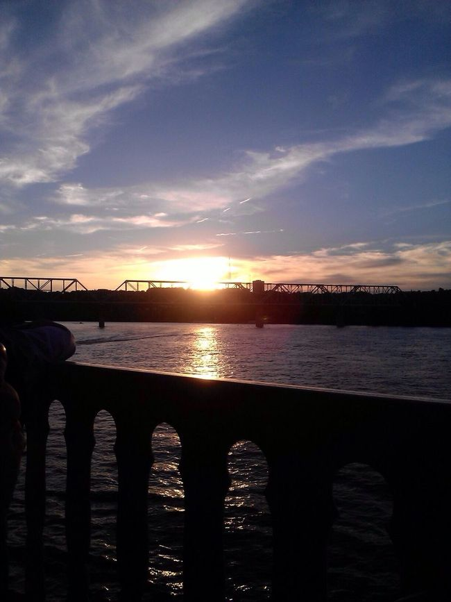 Enjoying Life Check This Out Relaxing on the Ohio River