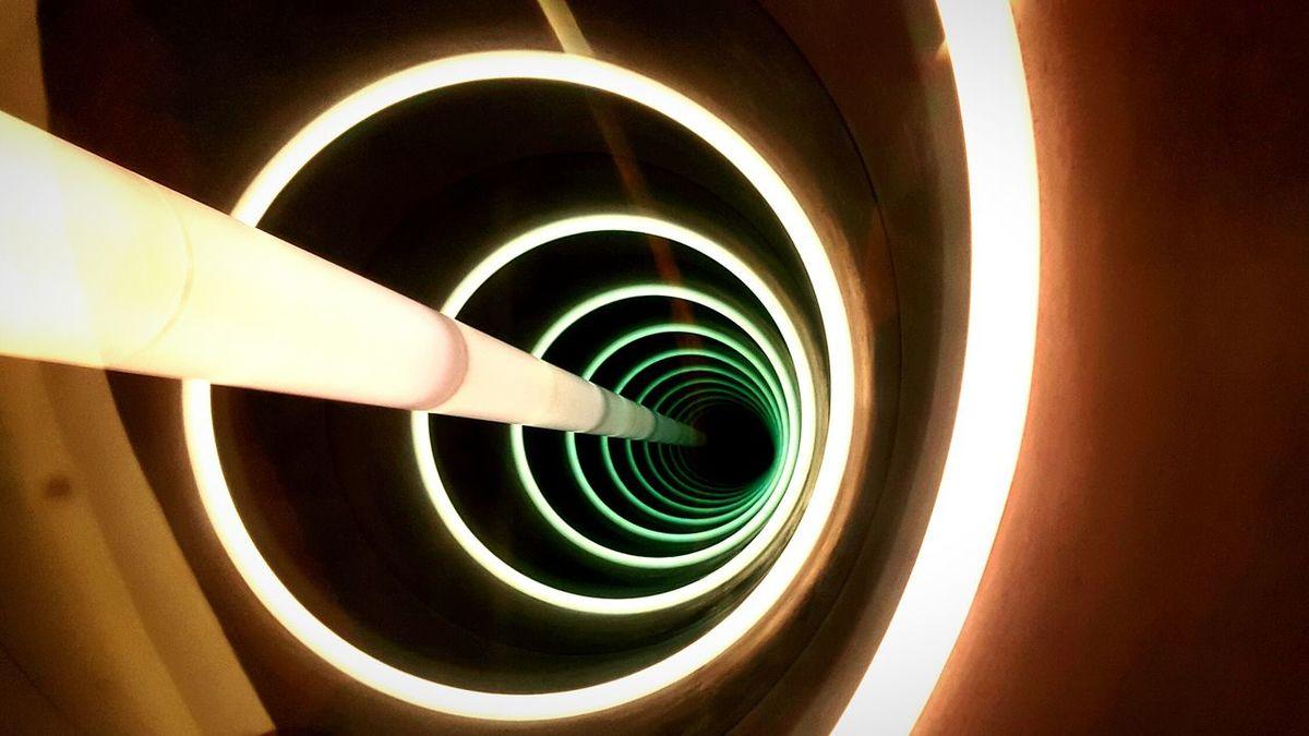 Tunnel Abstract No People MGM Artsy Circles In Circles Lights