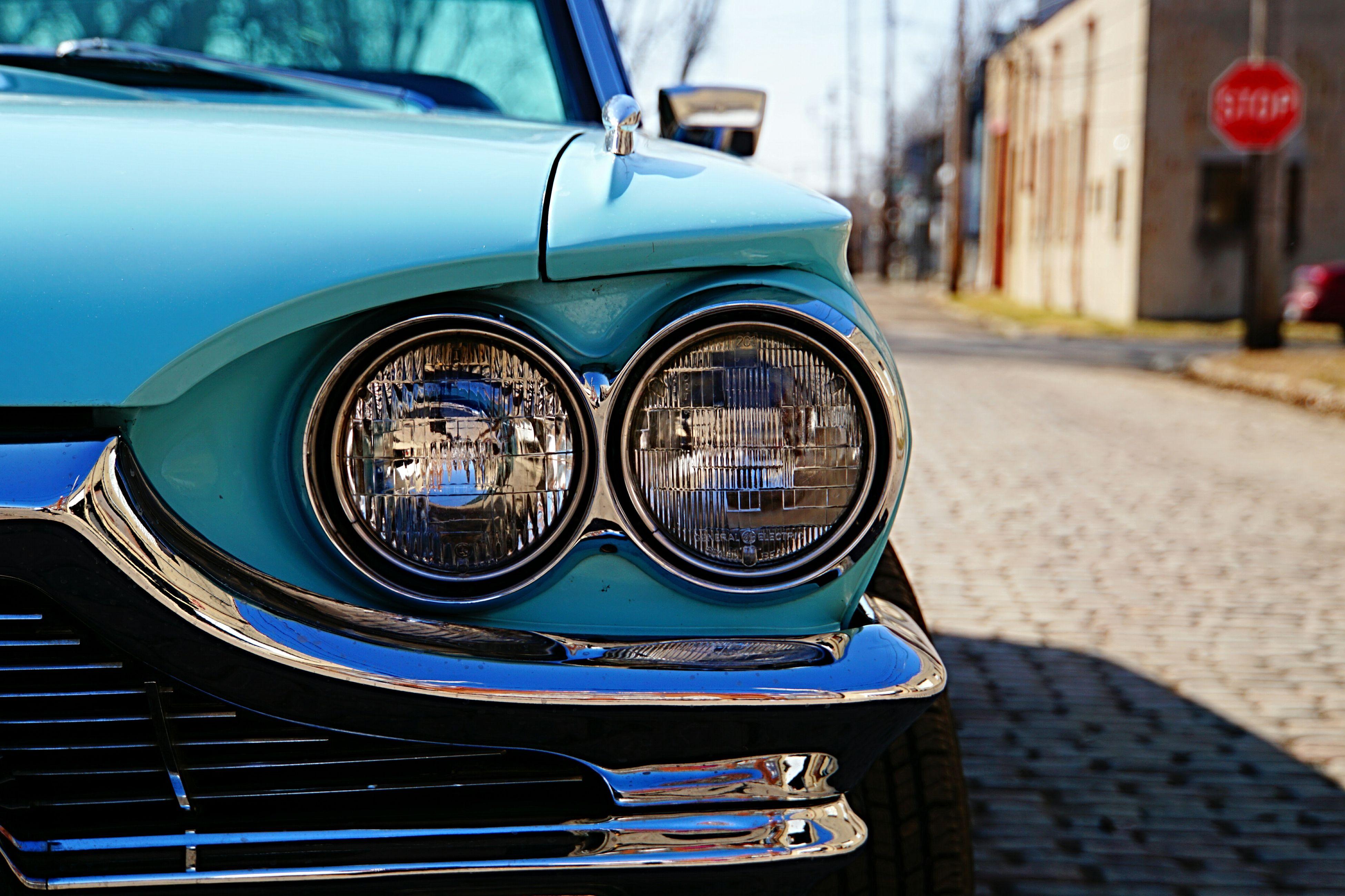 T. Bird Ford Thunderbird Classic Car American Muscle Car_lovers Old School Columbus Ohio