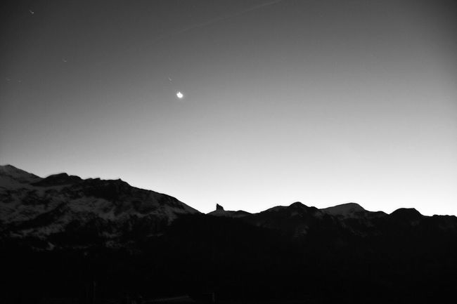 Schwitzerland Suisse  Noite Neight Star