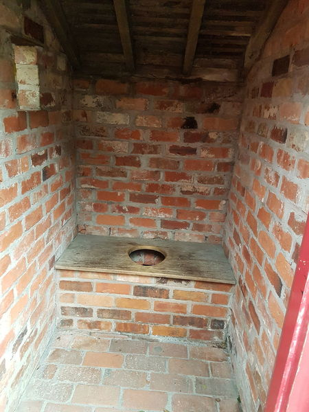 Victorian Toilet Victorian Period Victorian Victorian Architecture Victorian House Victorian Style Victorian Toilet Toilet Toilet Seat Outside Toilet Cold Temperature Built Structure Indoors  No People Architecture Day Hole