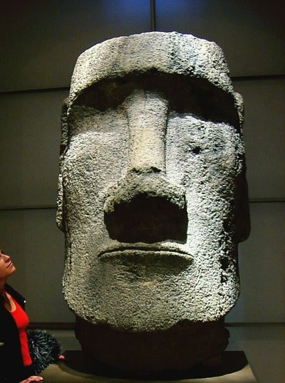 When 👱 meet🗿... Headstone Faces Of EyeEm Stone Statue Expressive Sculpture Peace And Quiet Huge!! Stoneman Lookatme