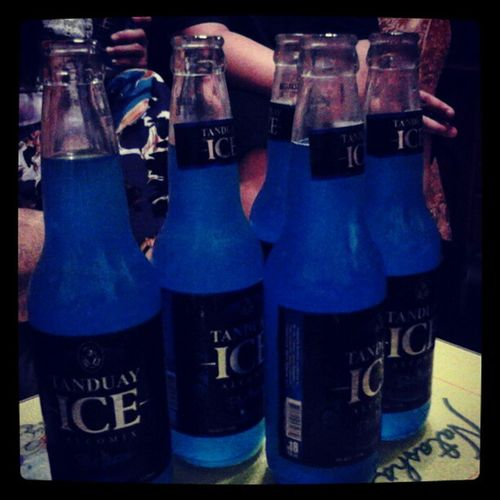 Lets Drink Blue Tanduay Ice