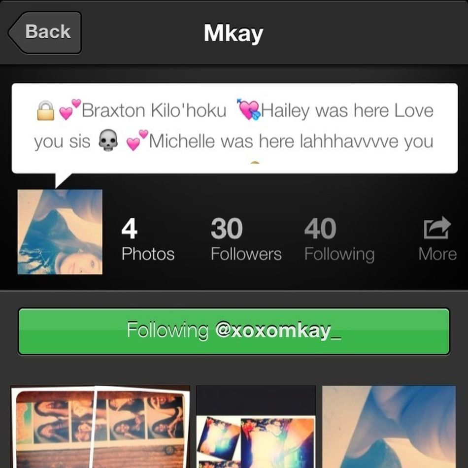 Follow This Girl Right Here