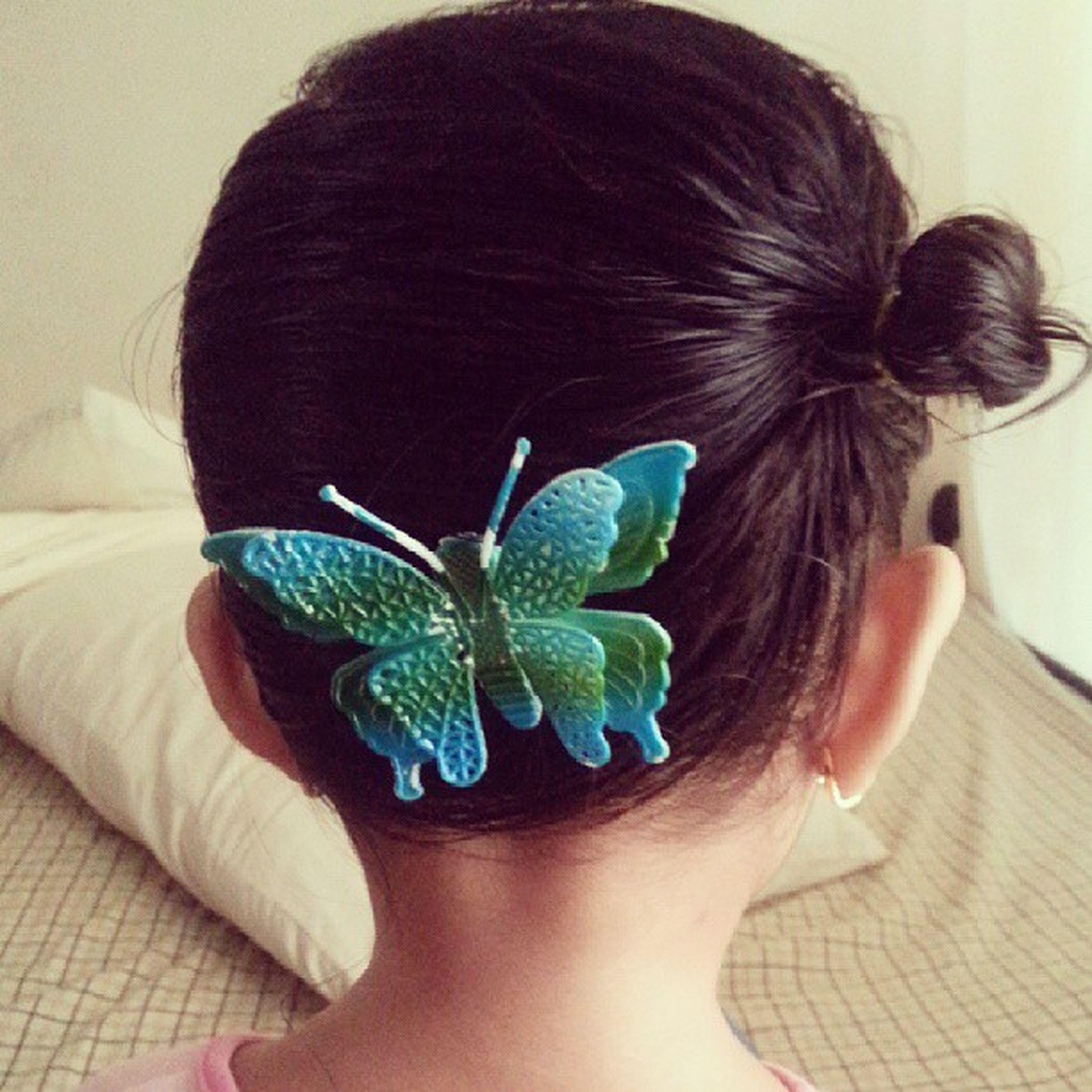 Hair of the day! HOTD Princessiara Onesidetiedup Butterflyclip