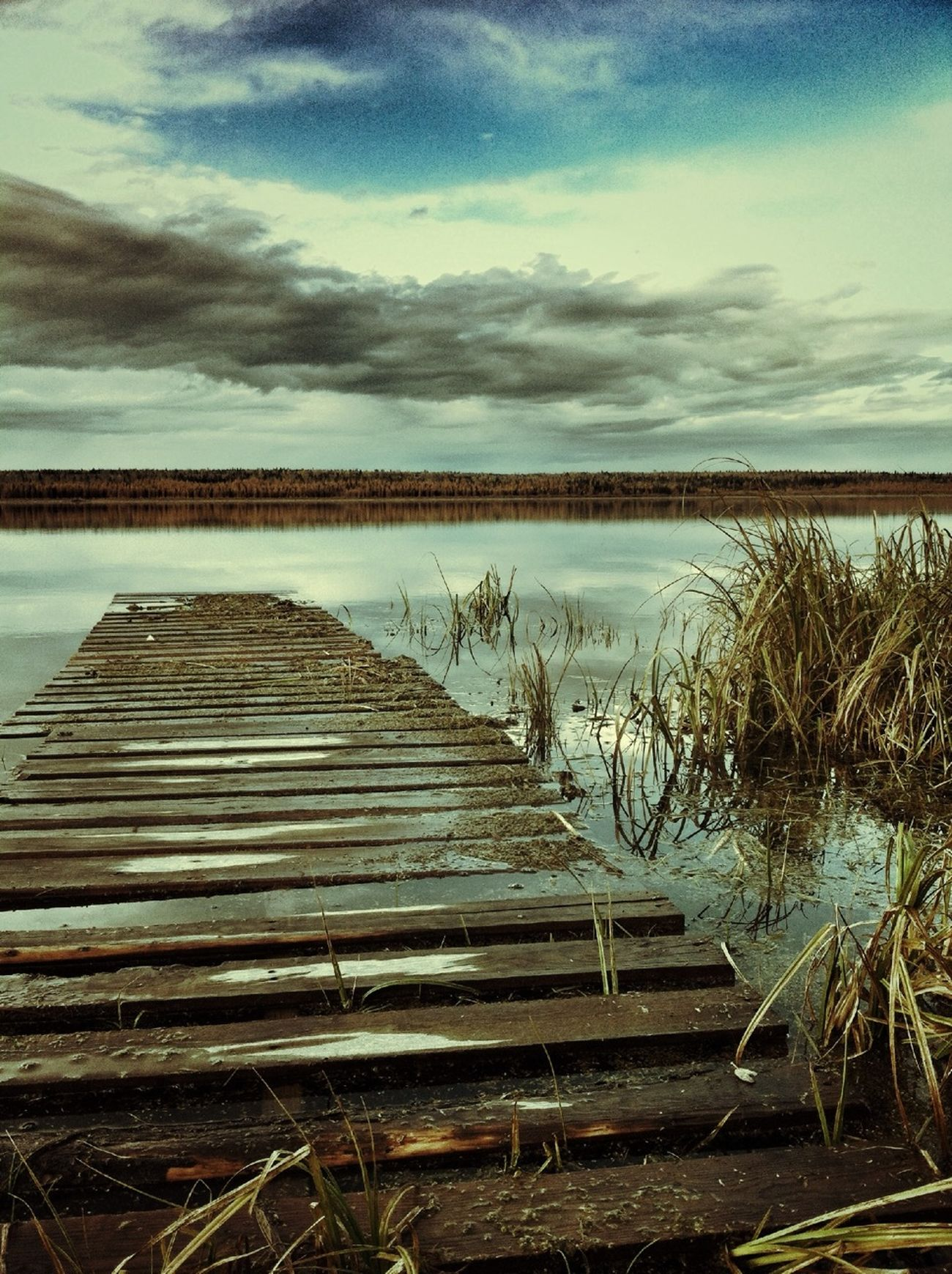 A homemade dock I captured this last summer