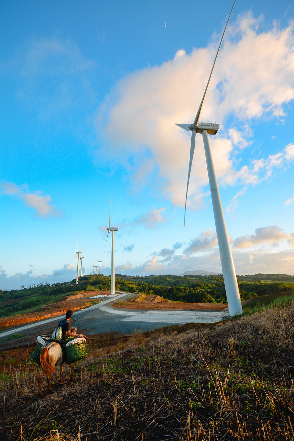 At the Pililia Rizal Wind Farm. A source of renewable energy a couple of hours away from Manila Blue Clear Sky Environmental Conservation Outdoors Pililia Rizal Wind Farm Renewable Energy Wind Wind Farm Wind Turbine Windmills Showcase: November EyeEmBestPics Eyeem Philippines