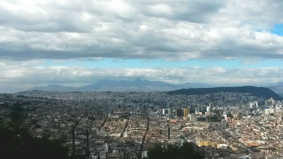 Lindo Quito de mi vida! Cityscape Cloud - Sky Urban Skyline No People Tourism City Quito Ecuador